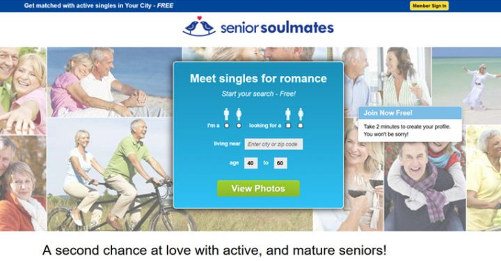 SeniorSoulmates registration