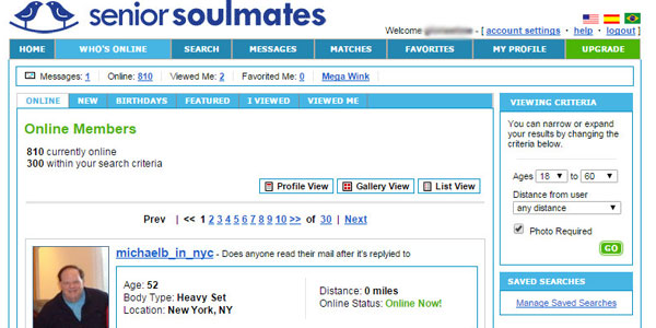 SeniorSoulmates review