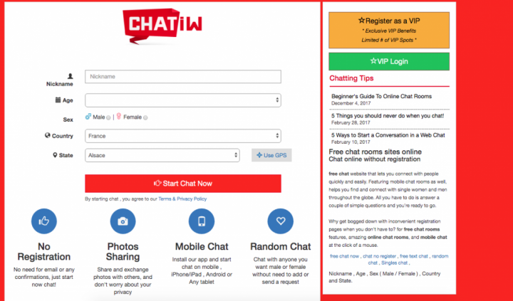 main page Chatiw